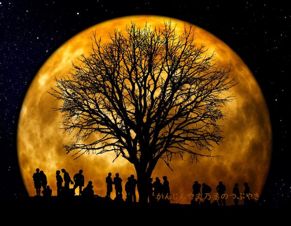 かんじんや丈乃丞のつぶやき ー満月へ遊びに行く理由